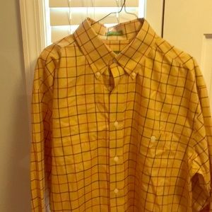 Large Orvis button down shirt